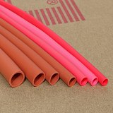 Silicone Heat Shrink Tube 0.8~30mm Diameter Flexible Cable Sleeve Insulated 2500V High Temperature Soft DIY Wire Wrap Protector
