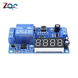 Countdown Time Delay Relay Module DC 12V 4 digit LED Digital Timer Control Switch PLC Timing Anti Reverse Voltage Regulator