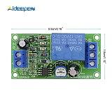 DC 12V 10V-14.5V Conduction NE555 Delay Timer Switch Adjustable Time Delay Relay Module Turn Off 1~60 seconds