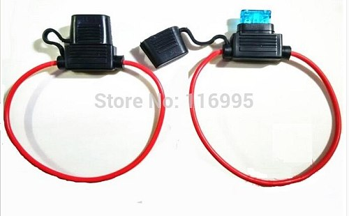 Free Shipping Fast Blow 10pcs Automobile / universal holder/ glass Fuse holder 5mm x 19mm   x18mm