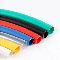 1 meter heat shrinkable tube color random combustion-proof insulation waterproof