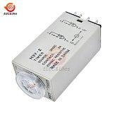 H3Y-2 AC 110V 220V DC 12V 24V Timing Time Delay Relay 0 - 30 Minute/ 0-30 Seconds On-Delay DPDT Timer Relay switch