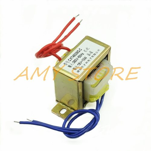 EI48*24 10W DB-10VA AC9/12/15V/18V/24V/220V Output Ferrite Core Input 380V 50Hz Vertical Mount Electric Single Power Transformer