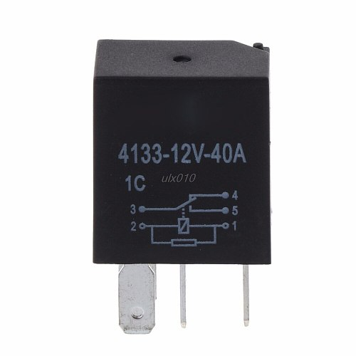 Automotive 12V 40A 5 Pin Relay Long Life Time Automotive Relays For Car