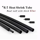 4:1 Dual Wall Heat Shrink Tube with Glue Tubing 4MM 6MM 8MM 12MM 16MM 18MM 20MM 24MM Adhesive Lined Sleeve Wrap Wire Cable kit