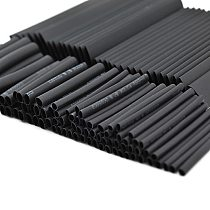 New Hot Sale 127 PCS 7.28m Black 2:1 Assortment Heat Shrink Tubing Tube Car Cable Sleeving Wrap Wire Kit Useful Electric Tubings