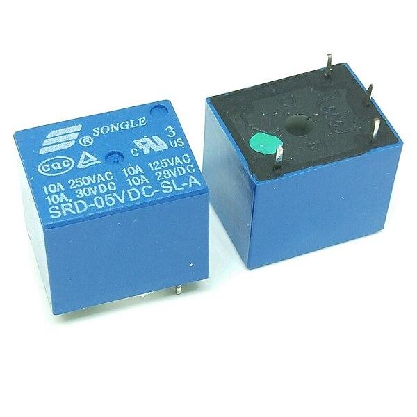 Relays SRD-05VDC-SL-A SRD-12VDC-SL-A SRD-24VDC-SL-A SRD-48VDC-SL-A 05V 12V 24V 48V 10A 250VAC 4PIN