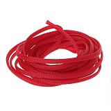 5M 4mm Expandable Tight Braided PET Sleeving Cable Wrap Sheath Wire Audio Sleeve