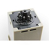 DH48S-S 12V time relay 220VAC  24VDC repeat cycle SPDT with socket DH48S series delay timer with base