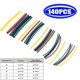 New Type Cable Sleeve Polyolefin Heat Shrink Tube Assorted Insulation Shrinkable Tube Wire Cable Sleeve Kit 530/328/140/127pcs