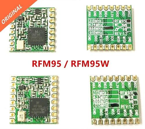 RFM95 RFM95W RFM96W RFM98W wireless transceiver module HopeRF ORIGINAL FCC / ROHS / ETSI / REACH Certificated