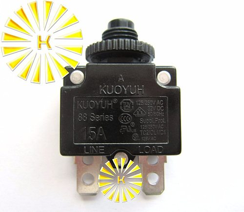 10PCS x 88 Series 3A 5A 6A 7A 8A 9A 10A 12A 15A Circuit Breaker Overload Switch Over Current Protector For 100% Original KUOYUH