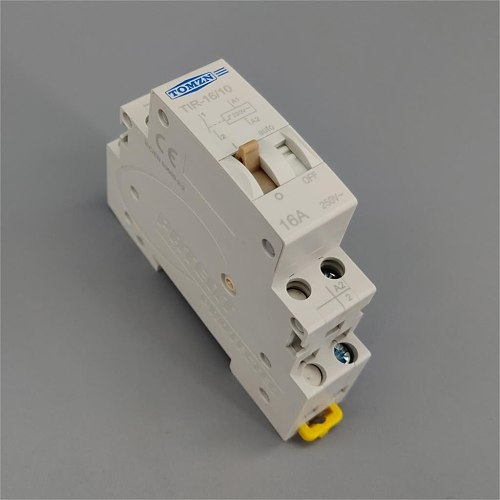 Impulse Relay Household Electric pulse control relay 16A 1NO 220V 50Hz 60HZ Auto control Relay for Lighting circuit