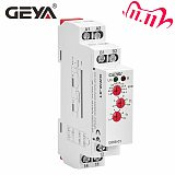 Free Shipping GEYA GRI8-01 Current Monitoring Relay Current Range 8A 16A AC24V-240V DC24V Overcurrent Protection Relay