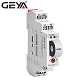 NEW GEYA GRI8-05 AC OR DC Current Monitoring Relay Straight-Through 2A-20A AC24V-240V Over-Current Under-Current Protection