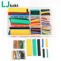 164pcs with box pouch package heat shrink heat-shrinkable tube set electronic diy kit termoretractil gaine thermo cable sleeve