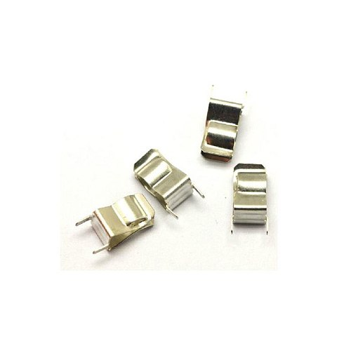 Free Shipping Brand New 200pcs/lot 6x30 mm Fuse Clip 6*30 Fuse Holder,Copper with Nickle Plated Fuse Base Wholesale Dropship