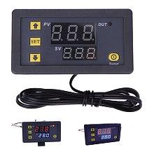 W3230 DC 12V 24V 110V 220V AC Digital Temperature Controller LED Display Thermostat With Heating Cooling Switch NTC Sensor