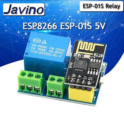 ESP8266 ESP-01S 5V WiFi Relay Module Things Smart Home Remote Control Switch Phone APP ESP01 ESP-01 Wireless WIFI Module