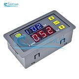 AC 110V 220V 12V 24V Digital Time Delay Relay LED Display Cycle Timer Control Switch Adjustable Timing Relay Time Delay Switch