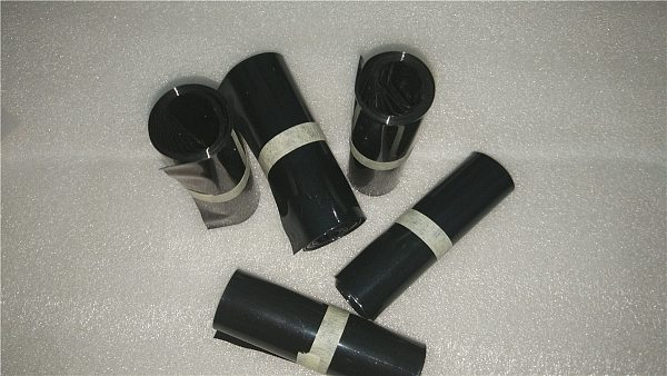 Black PVC Heat Shrink Tubing Electronic Insulation Materials 55/80/85/90/110/164/224mm Wide For Lipo Battery Film