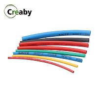 1M 2:1 Multicolor 0.6 0.8 1 2 3 5 6 8 10mm Diameter Heat Shrink Heatshrink Tubing Tube Sleeving Wrap Wire DIY Connector Repair