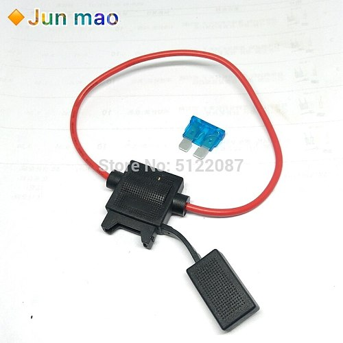 1pcs medium blade Auto fuse +1pcs waterproof auto Fuse Holder
