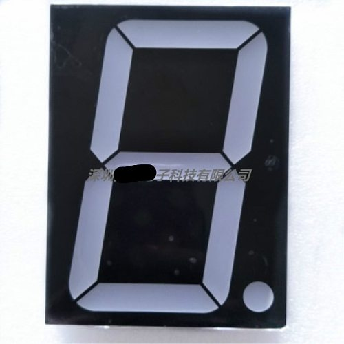 NEW  5inch 1digit red 7 segment led display 50101AS 50101BS in stock