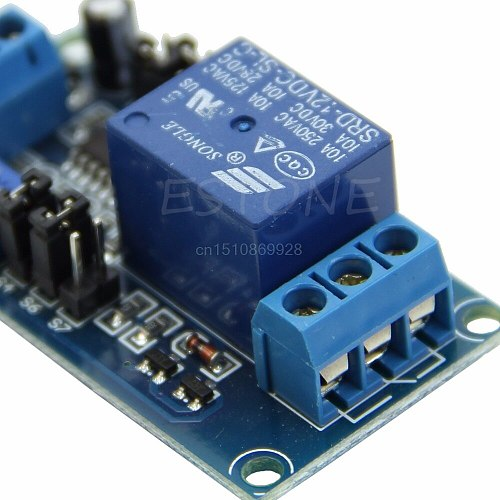 1PC Delay Relay Delay Turn on / Delay Turn off Switch Module with Timer DC 12V