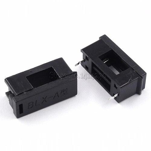 100Pcs BLX-A Type Fuse Holder Socket 5*20 5X20MM For PCB Mount