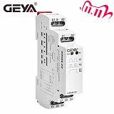 Free Shipping GEYA GRM8  Impulse Relay AC230V or AC/DC12V-240V Latching Relay Din Rail Electronic Type