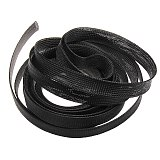 Dropship 10M Insulation Braided Sleeving 2/4/6/8/10/12/15/20/25mm Tight PET Wire Cables Protection Expandable Cable Sleeve