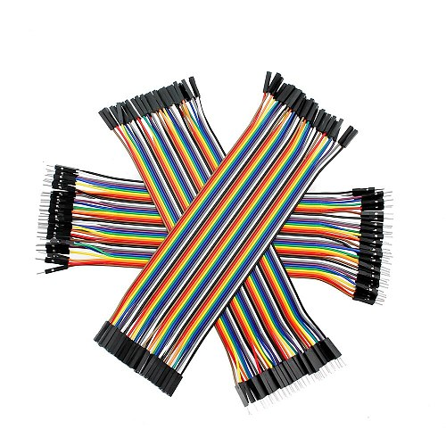 Dupont Jumper wire Jumper Wire 10CM 20CM 30CM Male to Male + Female to Male + Female to Female Dupont Cable for arduino DIY KIT