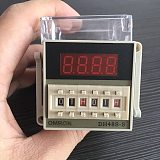 Free Shipping Omron Time Relay DH48S-S Digital Timer Delay Relay 0.1S-99 Hours Digital Timer Relay