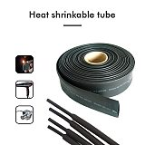 5M/100M Black Polyolefin Shrinking Assorted Heat Shrink Tube Wire Cable Insulated Sleeving Tubing wire Connector Protector