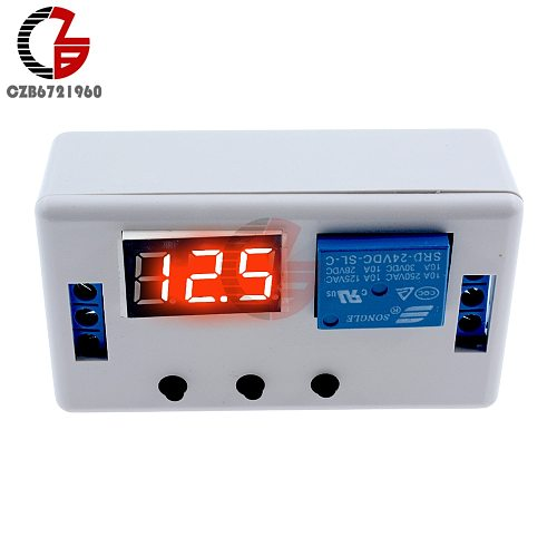 DC 12V 24V Time Delay Relay LED Digital Automation Timer Control Switch Timing Relay Module PLC Trigger Switch