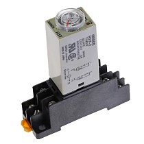 Delay Timer 0-30Min H3Y-2 DC12V DC24V AC110V AC220V Time Relay with PYF08A 8pin Base Mini Time Relay