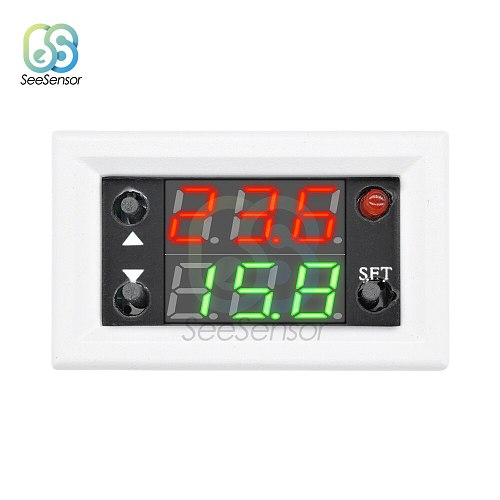 DC 12V 20A Dual Display Time Relay Module Time Delay Relay Mini LED Digital Timer Relay Timing Delay Cycle Time Control Switch