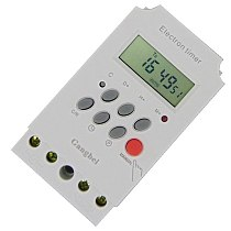 timer giornaliero Programmable Digital TIMER SWITCH Relay Control 220V Timer switch  230v 25A  timer KG316 relay time