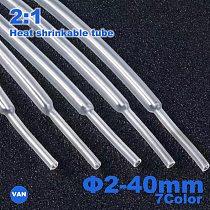 Heat Shrink tube 1 Meter 2:1 color 2-40mm Diameter Heatshrink Tubing Wire Connector Wrap Wire Repair Tube Cable Sleeve