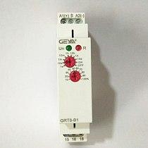 1pcs DIN Rail 16A 12V 24V 220V SPDT Delay OFF Timer GRT8-B AC230V or AC/DC12-240V Power Off Delay Time Relay