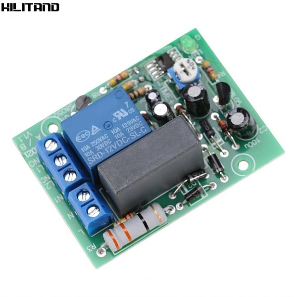 Timer Delay Switch Module AC220V Input/Output Timer Delay Switch Module Adjustable Timing Turn Off Board Delay Off Switch Module