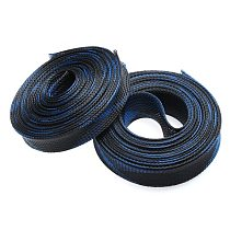 5M 10M Cables Wire Gland Protection Insulation Braided Sleeving Tight Expandable Cable Sleeve 2/4/6/8/10/12/15/20/25mm