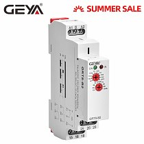 GEYA GRT8-B Din Rail Off Delay Timer Relay 12V Time Delay Relays with CE CB certificate AC230V OR AC/DC12V-240V