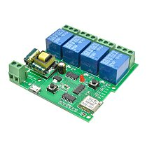 AC 220V 4 CH 4CH 4 Channel Wireless WIFI Relay Board Module Switch 4-way Control Delay Relay IOT For Smart Home Relay Switch