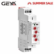 GEYA Asymmetric Cycler Time Relay AC230V OR AC/DC12V-240V Repeat Cycle Timer Relay 0.1s-100days
