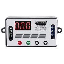 DC 12V DDC-431 Timer Delay Relay Switch Digital Data Save Delay Controller DC 6V-30V