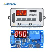 DC 12V Time Delay Relay DDC-231 Time Relay Programmable Timing Relay Control Switch PNP sensor Trigger PLC Automation Car Buzzer