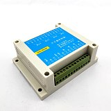 MODBUS RTU protocol 4 in 4 out control relay module RS485 switch input and output PLC module