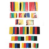 164pcs 328pcs  Heat Shrink Tube Kit Shrinking Assorted Polyolefin Insulation Sleeving Heat Shrink Tubing Wire Cable 8 Sizes